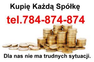 Spółki Zadłużone Kupię - Przejmę Sprzedam