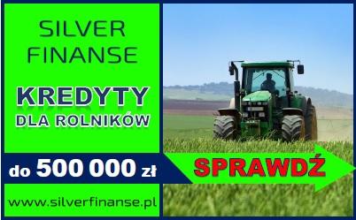 Kredyt Dla Rolników! Jedyna Taka Oferta Na Rynku! 500 000 Zł  2